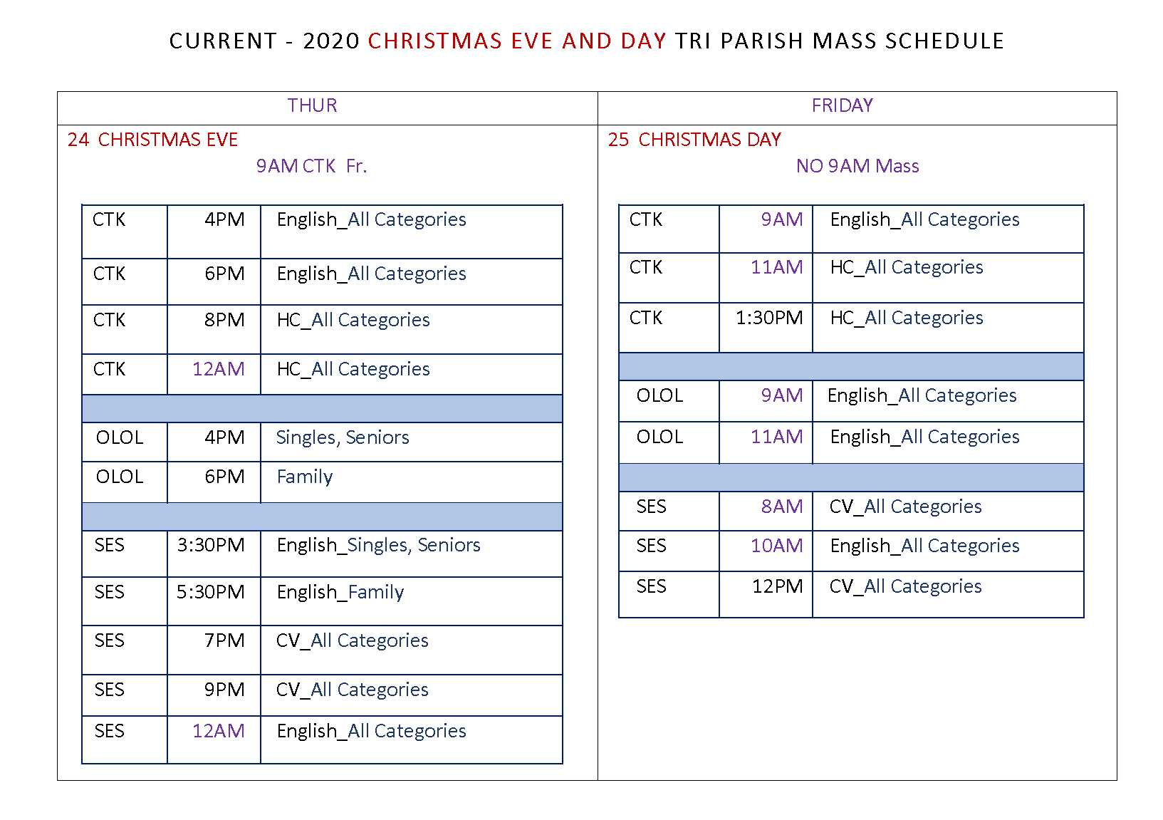 The Message Christmas Mass Schedules 2020 Catholic Tri Parishes of Brockton: Welcome to the Brockton